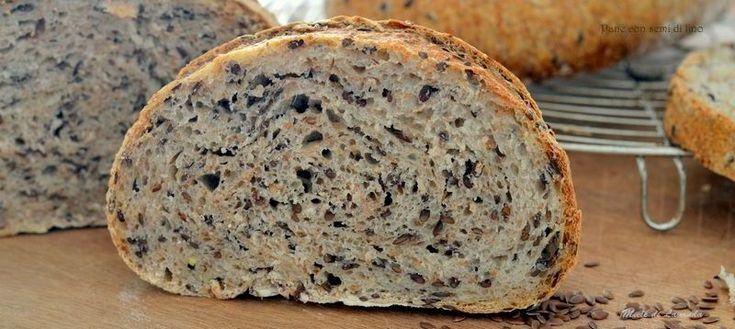 pane con semi di lino il pane della salute a lievitazione naturale