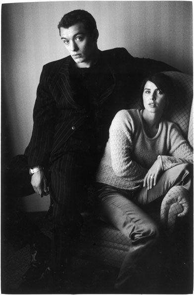 tanushka-sh:  Jude Law & Sadie Frost