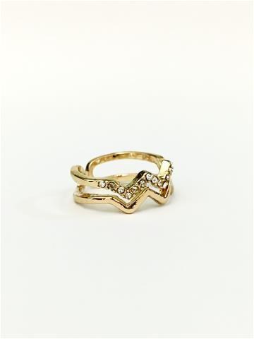 La Bella Donna - Γυναικείο δαχτυλίδι με στρας
