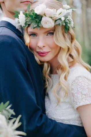 За и против: свадебные прически с распущенными волосами