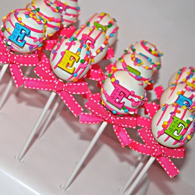Best Cake Pops Images On Pinterest Cake Ball Parties And - Cake pop birthday cake