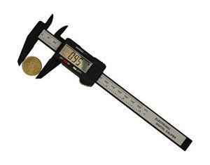 Pied à Coulisse Digital 150 mm – Fibre de Carbone – Avec Etui