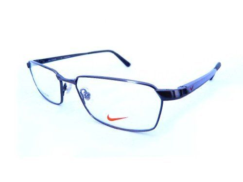 new nike rx prescription titanium eyeglass frame 6033 045 steel grey by nike 9999 nike a giant manufacturer of sports accessories has now