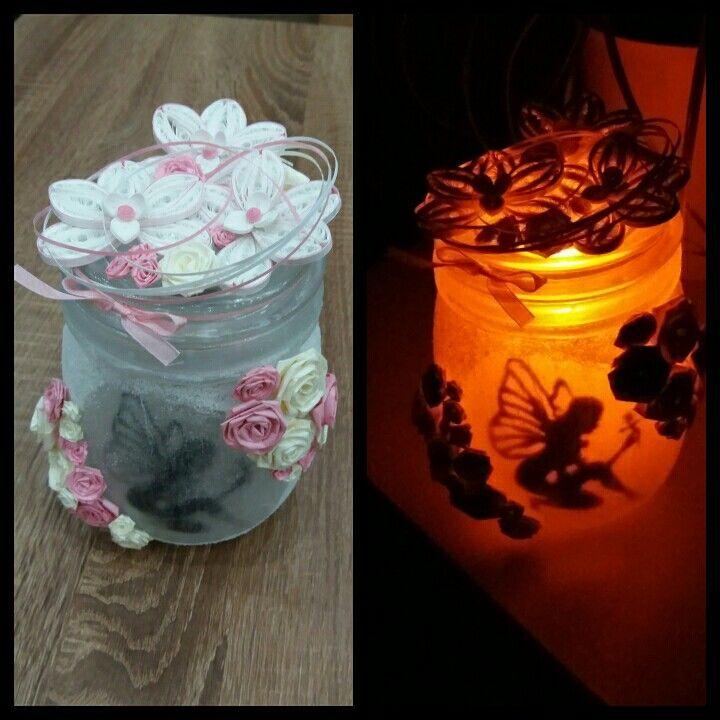 quilling fairy lantern