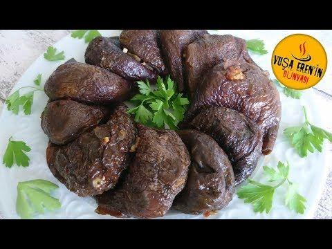 Kuru Patlıcan Dolması Zeytinyağlı (Antep Usulü)-Tam Ölçülü Etli Dolma- Dolma Tarifleri - YouTube