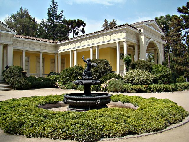 santiago chile casa y jardines picture | Concha Y Toro / Recent Photos The Commons Getty Collection Galleries World Map App ...