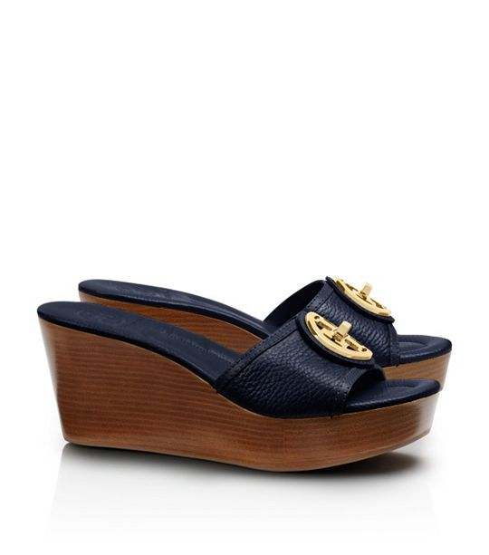 Tory Burch Leather Platform Sandals low price online clearance fashion Style limited edition cheap online W8siGx2