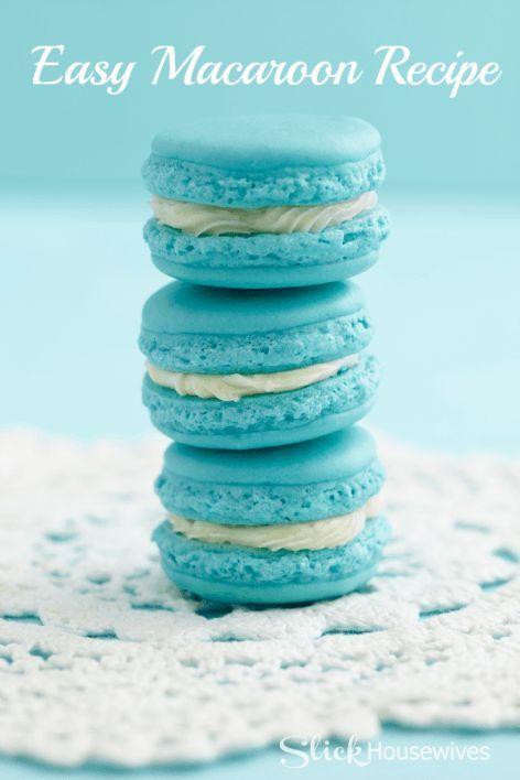 Macarons Recipe Food Coloring