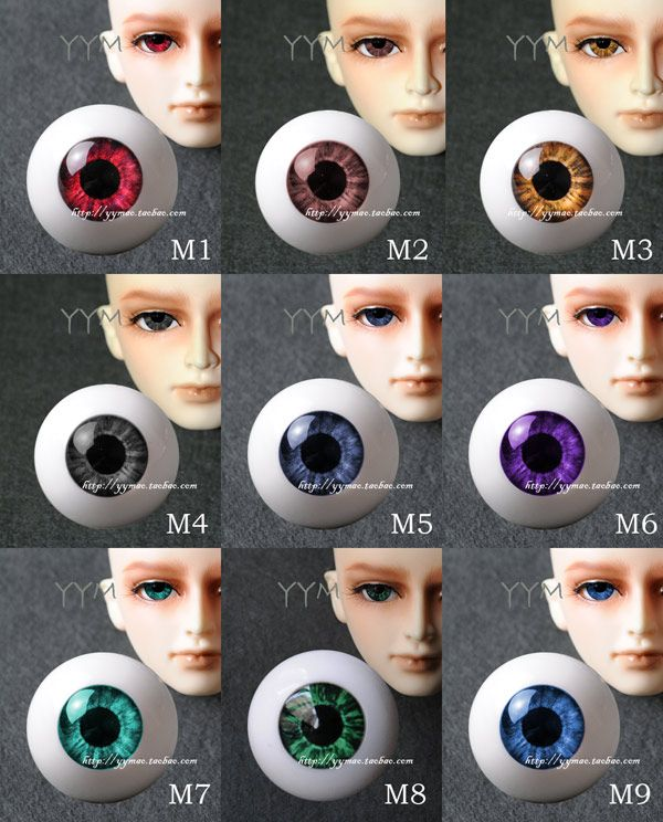1 pair Bjd aesthetic acrylic light eyeball for 1/3 1/4 1/6 BJD doll DIY 8- - 26mm http://alipromo.com/redirect/cpa/o/dd110570be96a3674071f267f425fb17
