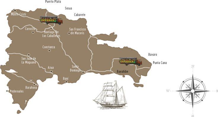 Outback Adventures excursions Punta Cana - Bavaro, Bayahibe, Puerto Plata, Cabarete and Sosua Dominican Republic.