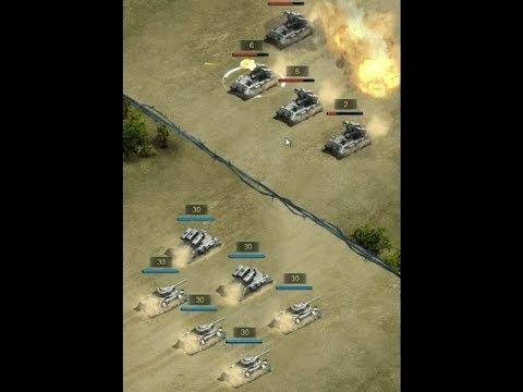 Band of Brothers Fury Tank RPG GAME play #1 - Band of Brothers Fury Tank is a Android Free 2 play Strategy in real time RTS Multiplayer Game in modern Warfare background
