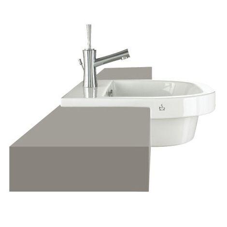 Euro Mono 560 semi-inset basin