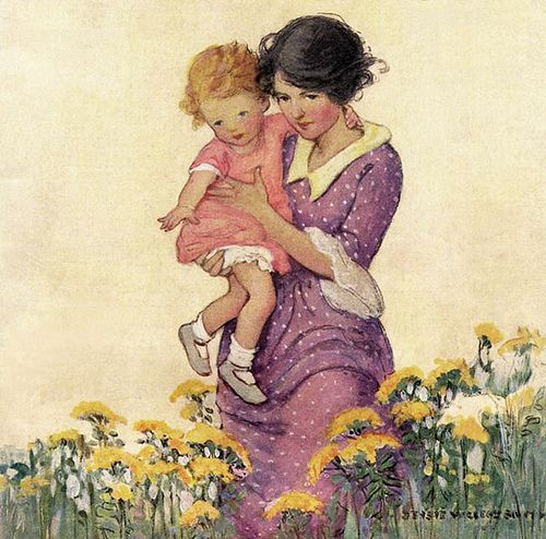 Jessie Willcox Smith - Good Housekeeping | Flickr - Photo Sharing!