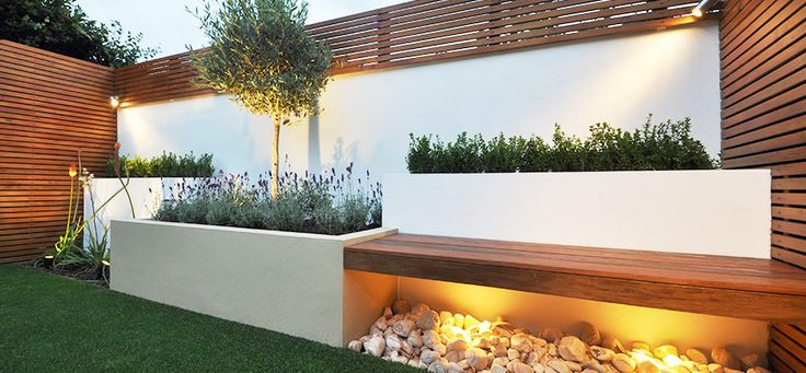 Garden lighting ideas.