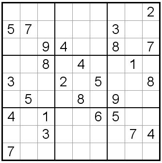 Hard Sudoku - Free Difficult Sudoku Printable Sudoku Puzzles 89-92 ...