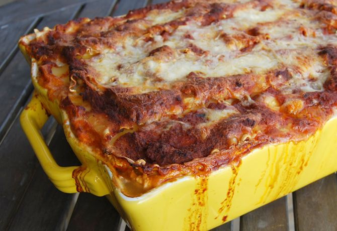 The best ever lasagna f you want more great dinner ideas for Best dinner ideas ever