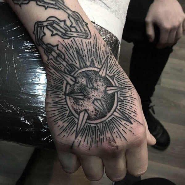 Tatuaże Na Dłoni Znaczenie 100 Zdjęć Pomysł Na Tatuaż