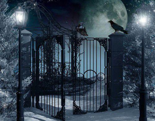 Cemetery Gates ☾ | Peaceful Places ☾ | Pinterest | Gates