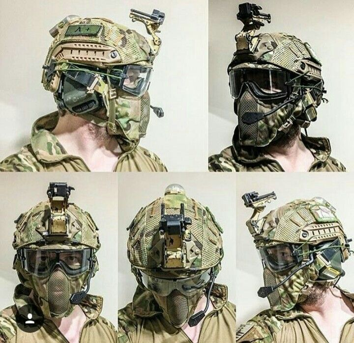 Airsoft helmets