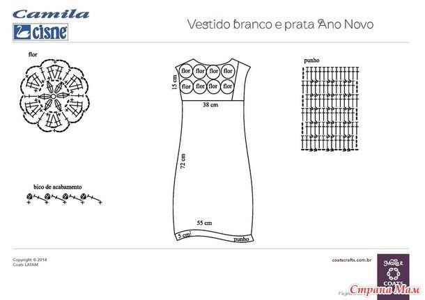 Летнее платье. Бразильские модели.