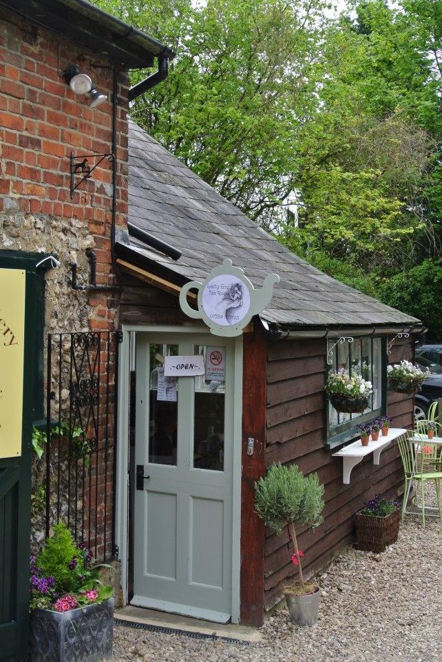 Lady Grey Tea Rooms, Wendover, Bucks, England...