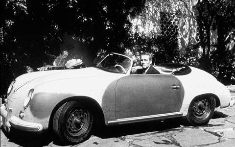 El Porsche 356 A Speedster De Lew Harper Paul Newman En