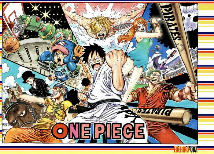 Sport Cover One Piece 123movie One Piece Comic One Piece Manga One Piece Chapter