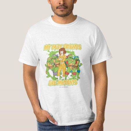 TMNT | My Best Friends are Mutants T-Shirt - click to get yours right now!