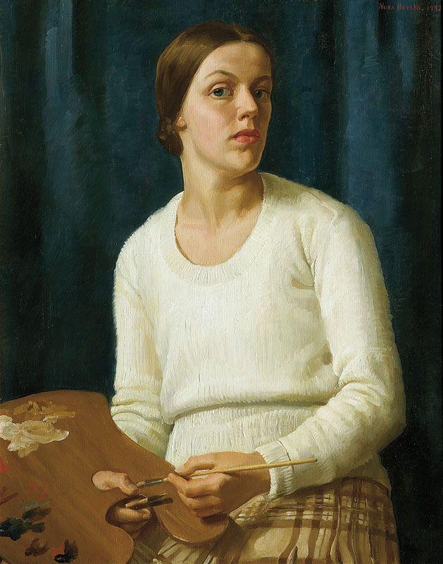 Self portrait - Nora Heysen