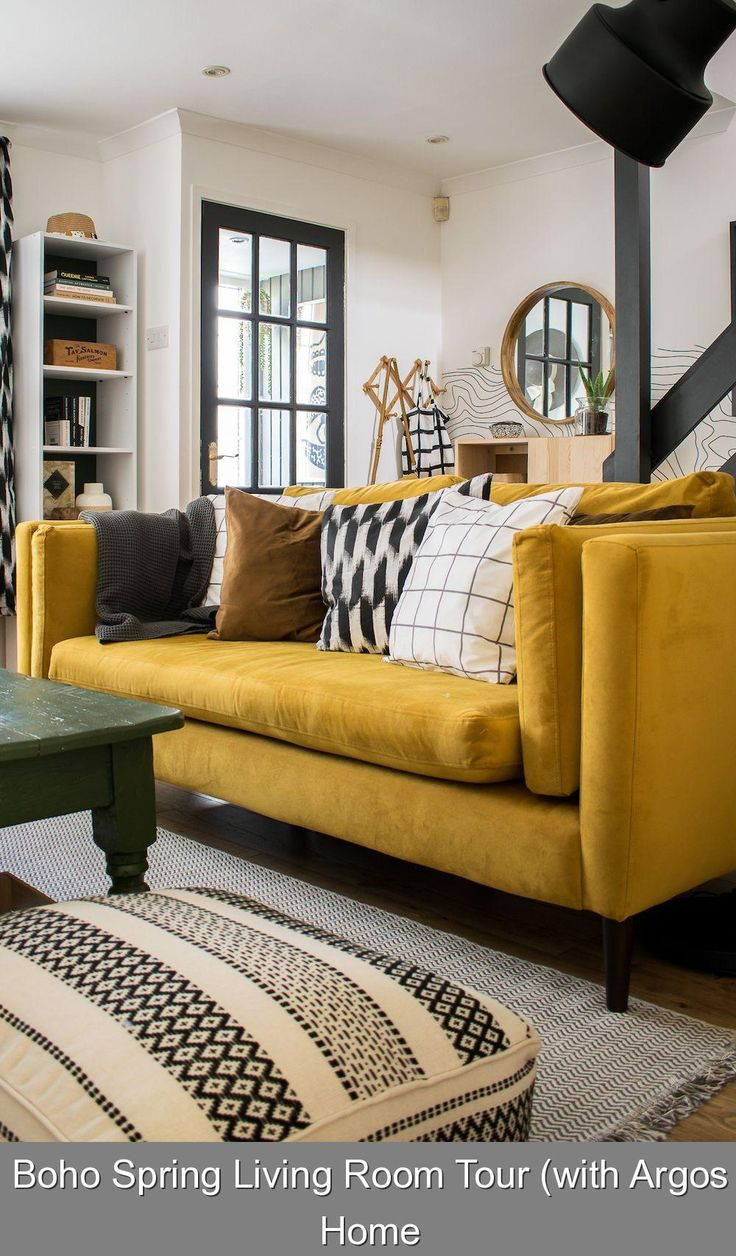 Boho Spring Living Room Tour with Argos Home 12 living ...