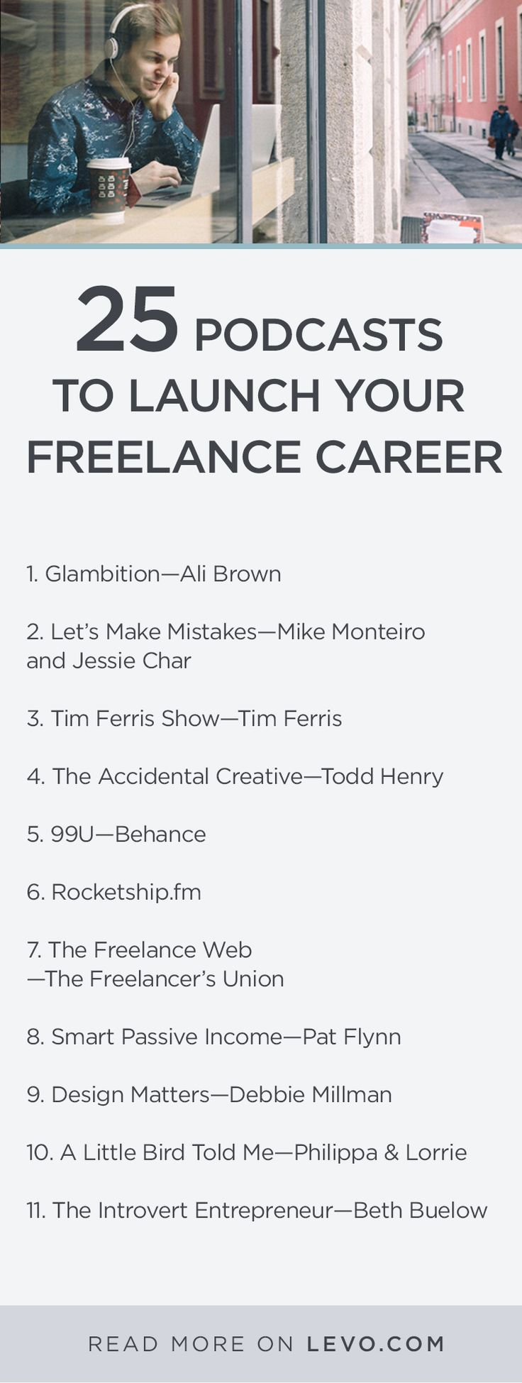 25 Podcasts To Launch Your Freelance Career In 2016