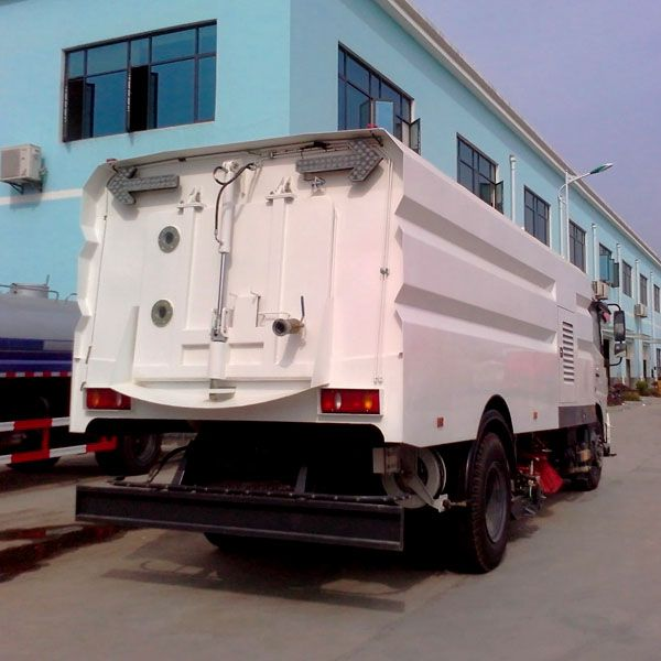washing and sweeping truck-road sweeper truck