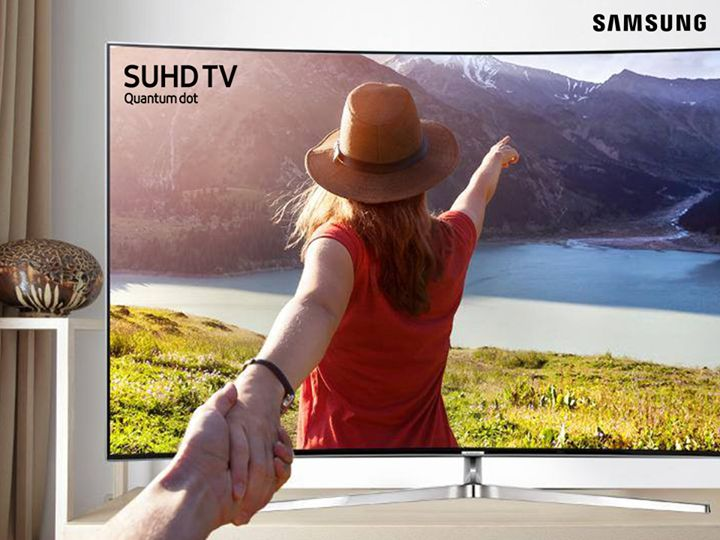 Follow us to the extraordinary TV experience with the innovative design, advanced technology and crystal clear picture of Samsung SUHD TV.