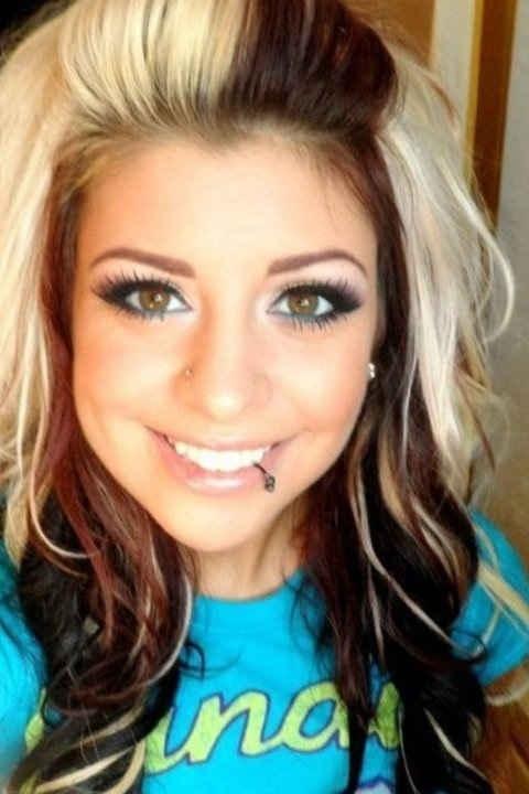 Looooooove her hair colors