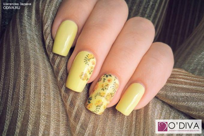 "Milv, слайдер-дизайн ""Цветы N111p"" http://odiva.ru/~gxQMr  #milv #милв #водныенаклейки #наклейкидляногтей #слайдердизайн #наклейкинаногти #дизайнногтей #ногти #идеиманикюра #маникюр"