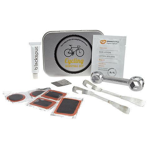Buy John Lewis Cycling Survival Kit, Silver Online at johnlewis.com