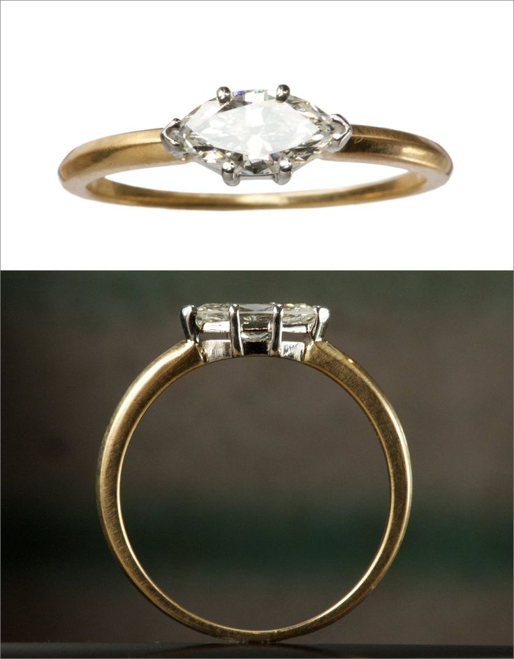 A new EB 0.47ct marquise diamond ring.