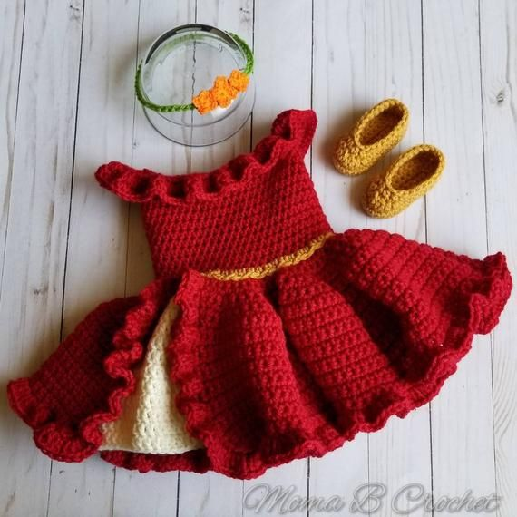 Crochet Princess, Baby Girl Crochet, Crochet Baby Clothes, Newborn Crochet, Crochet Woman, Moda Crochet, Crochet Doll Pattern, Cute Crochet, Robes Disney