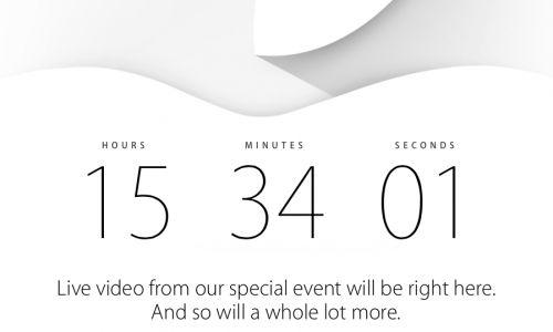 Cobertura en directo de la keynote de Apple