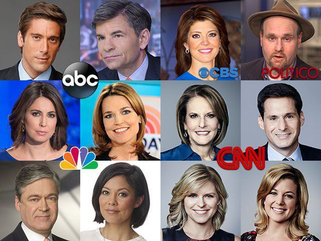 "A few of the ""journalists"" meeting offline with Hillary advisers Thanks to Wikileaks we now know that at least 65 ..."