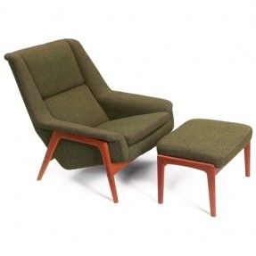 Danish Mid Century Modern Furniture | Danish Modern DUX chair
