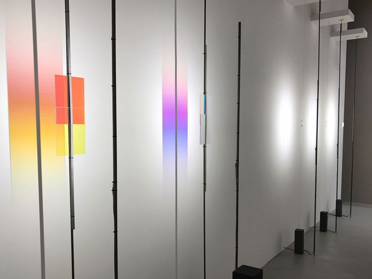 Formafantasma Flos 2017 Lighting design; glass gradient reflection