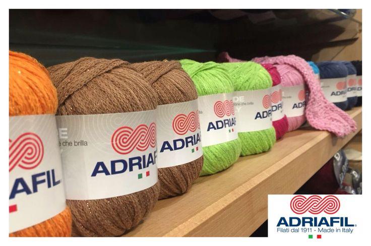 #Vegalux #Adriafil sugli scaffali, festa di colori e scintille<3 ce l'hai nel tuo negozio?;) http://goo.gl/H6YJdO
