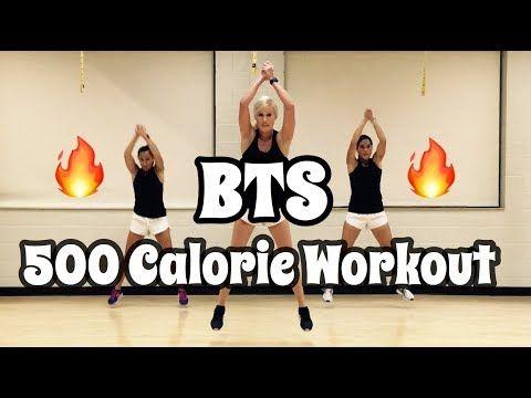 Bts 500 Calorie Workout Youtube 500 Calorie Workout Calorie Workout Aerobics Workout