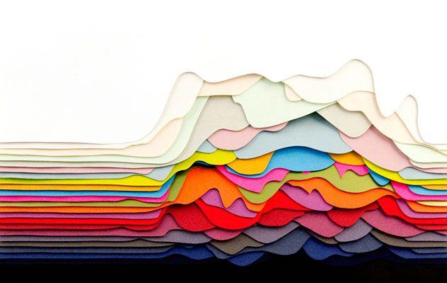 パリにて活躍するアーティスト・Maud Vantours氏手がける、さまざまなテーマで紙を匠にカットし組み合わせ、独特の3Dペーパーアートの世界が表現されています。