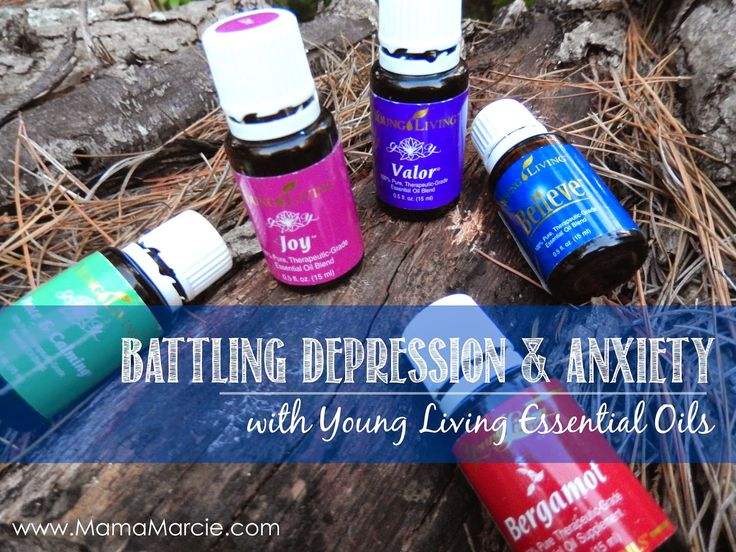Mama Marcie: 17 Oily Options for Depression and Anxiety #OilyFamilies #YoungLiving