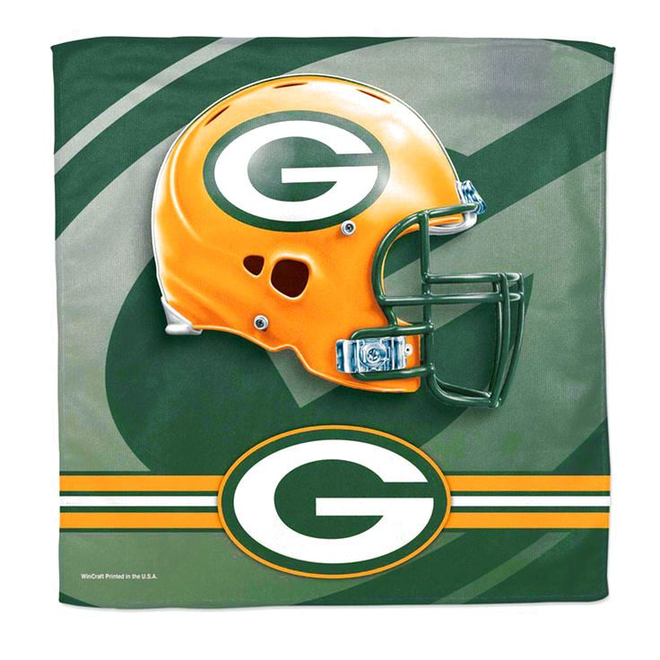 "Green Bay Packers WinCraft 16"" x 16"" Collector Towel - $8.79"