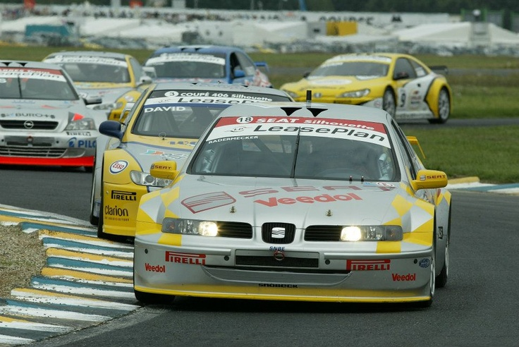 Vincent Radermecker. SEAT Toledo Silhouette. France Supertouring Championship 2002