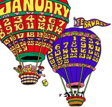 The amazing calendars by Pilliard Dickle. http://www.dicklecalendars.com/