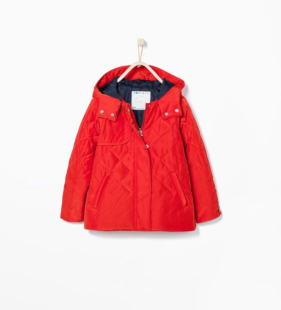 ZARA - KIDS - QUILTED COAT